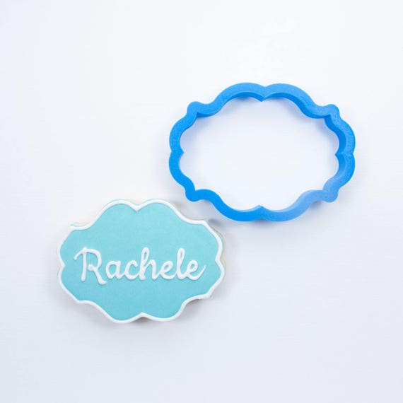 The Rachele Plaque Cookie Cutter
