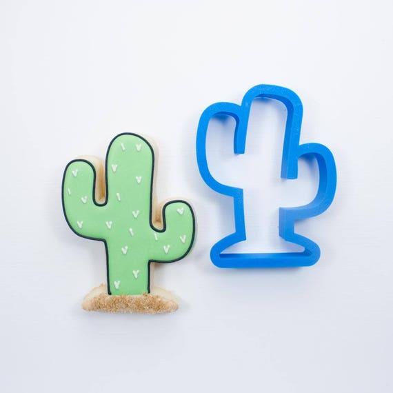 Cactus Cookie Cutter | Mini Cactus Cookie Cutter | Mini Cookie Cutters | Unique Cookie Cutters