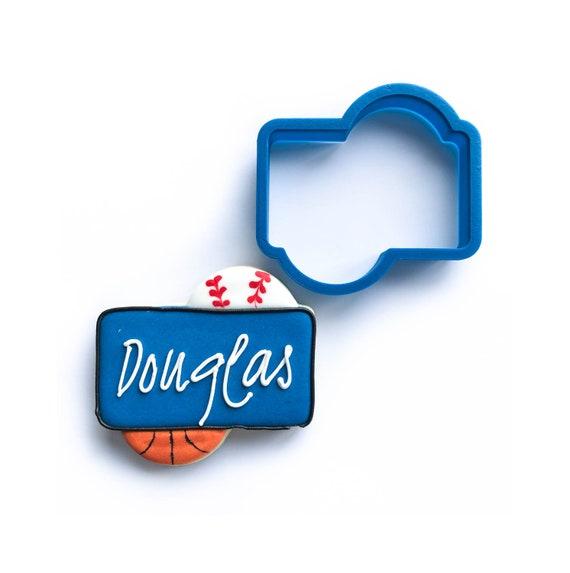 The Douglas Plaque Cookie Cutter