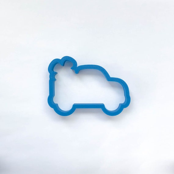 Vintage Truck with Four Leaf Clover Cookie Cutter