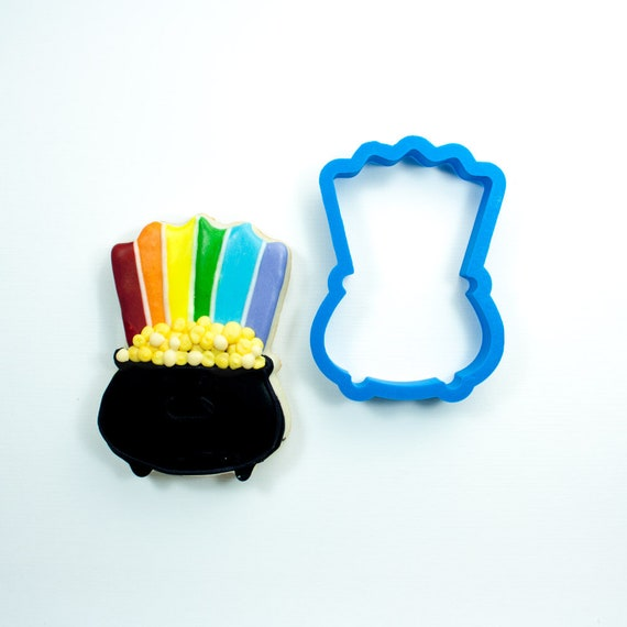 Rainbow Pot of Gold Cookie Cutter