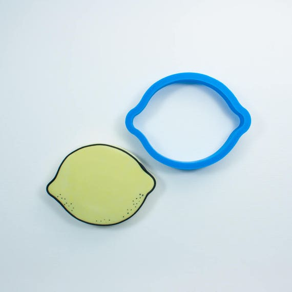 Lemon Cookie Cutter | Mini Lemon Cookie Cutters | Fruit Cookie Cutter | Food Cookie Cutters | Unique Cookie Cutters | Mini Cookie Cutter