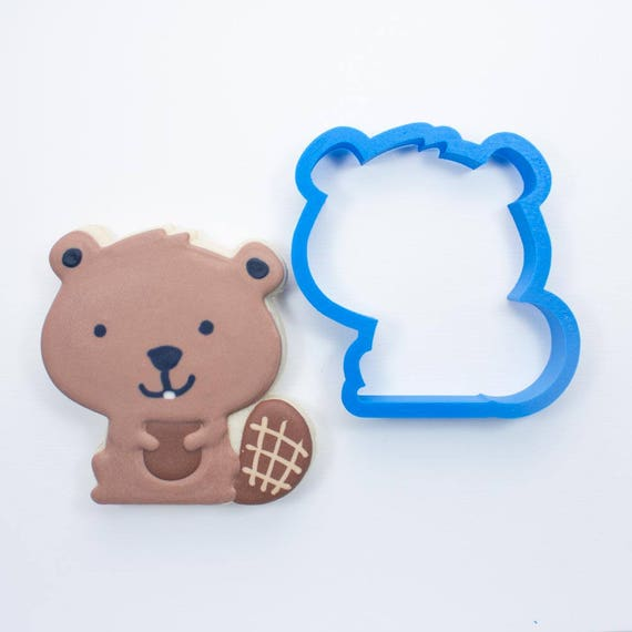 Woodland Beaver Cookie Cutter | Animal Cookie Cutter | Woodland Cookie Cutters | Custom Cookie Cutters | Unique Cookie Cutters | 3D Cookie