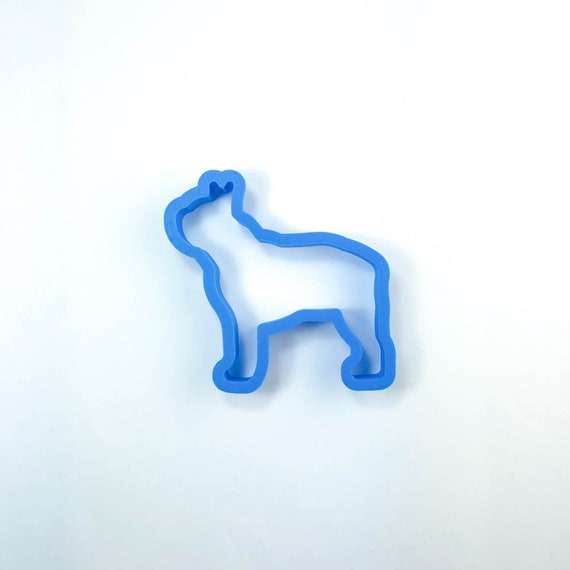 Boston Terrier Dog Cookie Cutter | Dog Cookie Cutter | Doggie Cookie Cutter | Custom Cookie Cutter | Dog Treat Cookie Cutter | Dog Bone