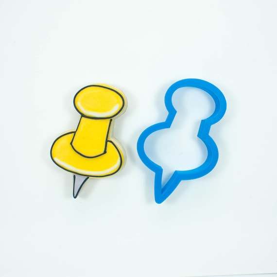 Pushpin Cookie Cutter
