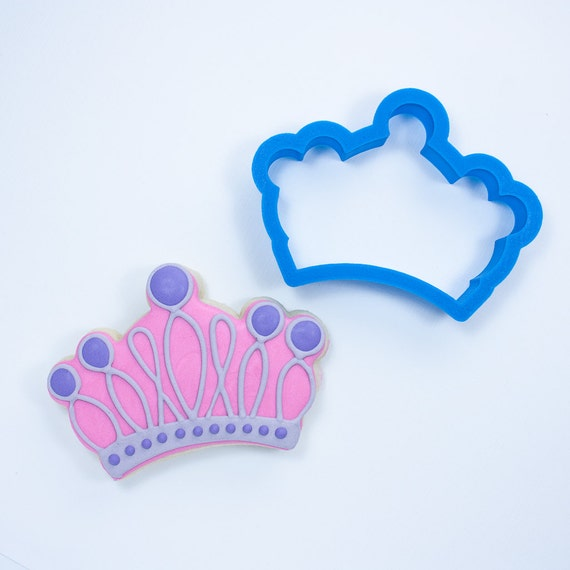 Princess Crown Cookie Cutter | Princess Cookie Cutters | Crown Cookie Cutter | Crown Shaped Cookie Cutter | Mini Crown Cookie Cutter