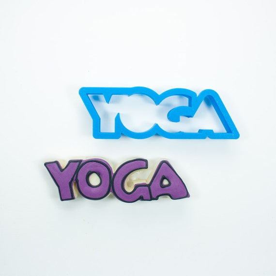 Yoga Cookie Cutter (Word)