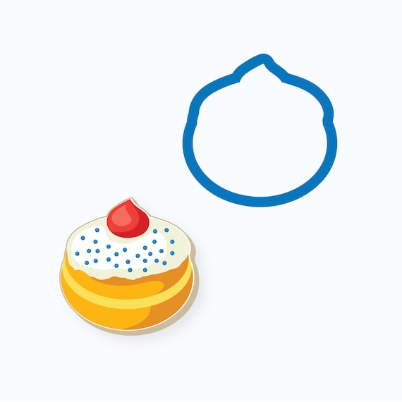 Jelly Doughnut Cookie Cutter