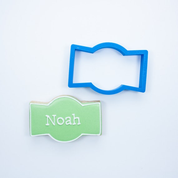 The Noah Plaque Cookie Cutter