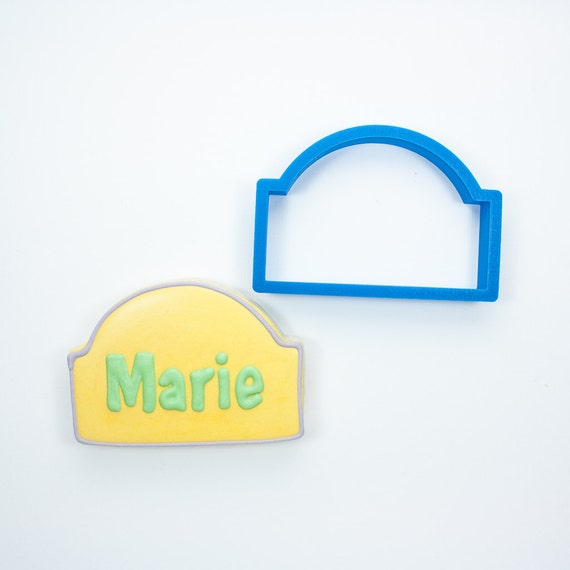 The Marie Plaque Cookie Cutter