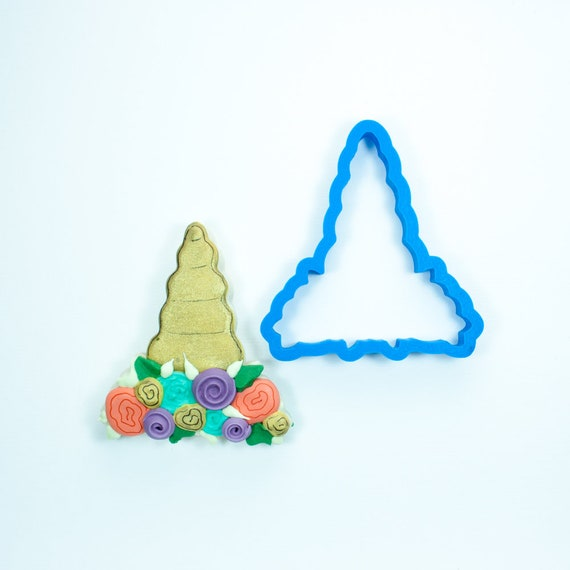 Unicorn Horn Cookie Cutter | Birthday Cookie Cutter | Cake Cookie Cutter | Mini Cookie Cutter | Unique Cookie Cutters