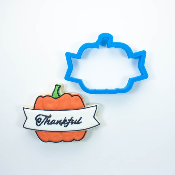 Banner Pumpkin Cookie Cutter