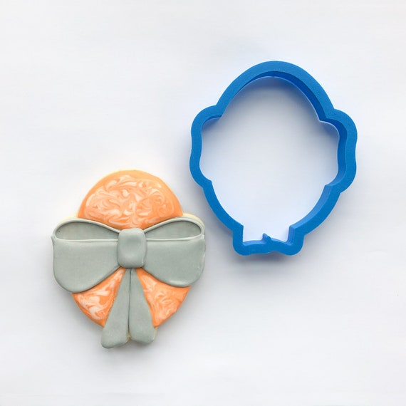 Egg with Bow Cookie Cutter | Easter Egg Cookie Cutters | Easter Cookie Cutters | Mini Cutters