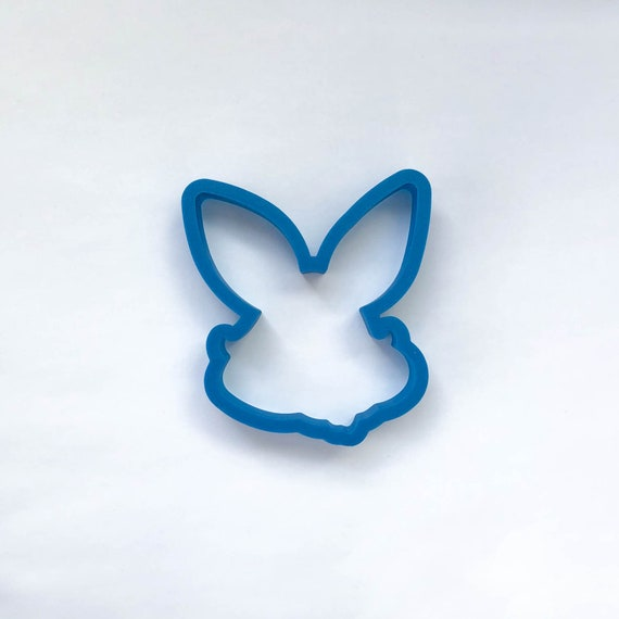Bunny with Whiskers Cookie Cutter | Easter Bunny Cookie Cutter | Easter Cookie Cutter | Unique Cookie Cutter | Fondant Cutter | Mini Cutter