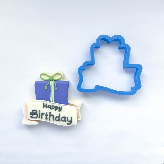 Gift Banner Cookie Cutter