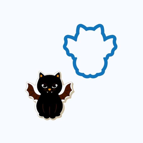 Vampire Cat Cookie Cutter