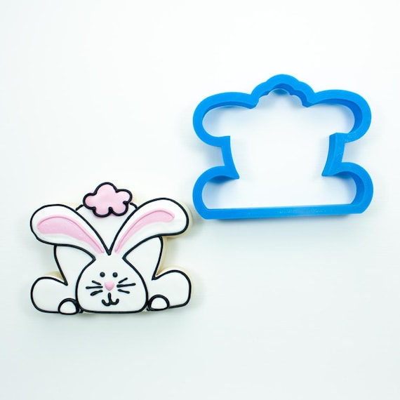 Bunny Booty with Ears Cookie Cutter