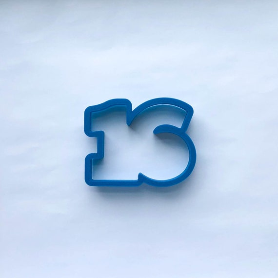 Number 16 Cookie Cutter | Sixteen Cookie Cutter | Number Cookie Cutters | Birthday Cookie Cutters | Unique Cookie Cutters