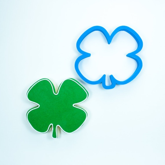 Chubby Four Leaf Clover Cookie Cutter