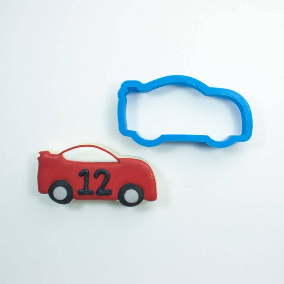 Race Car Cookie Cutter | Car Cookie Cutter | Car Cookie Cutters | Birthday Cookie Cutters | Unique Cookie Cutters