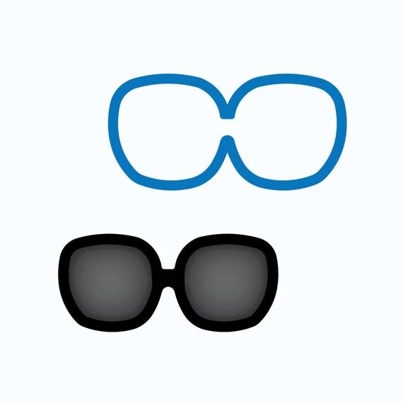 Sunglasses Cookie Cutter | Glasses Cookie Cutter | Mini Sunglasses Cookie Cutter | Beach Cookie Cutters | Unique Cookie Cutters