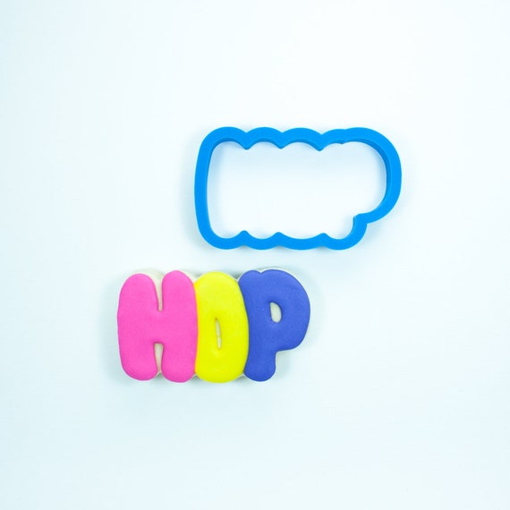 Hop Cookie Cutter | Easter Cookie Cutters | Plaque Cookie Cutters | Mini Cookie Cutters