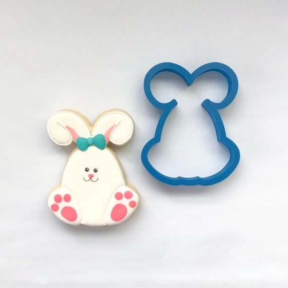 Easter Egg Bunny Cookie Cutter | Easter Bunny Cookie Cutter | Easter Cookie Cutter | Unique Cookie Cutter | Fondant Cutter | Mini Cutter
