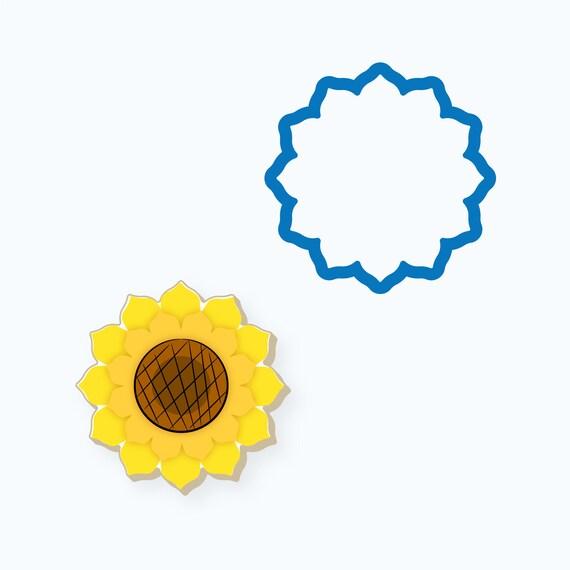 Sunflower Cookie Cutter | Sunflower | Flower | Fall Flower | Thanksgiving Cookie Cutter