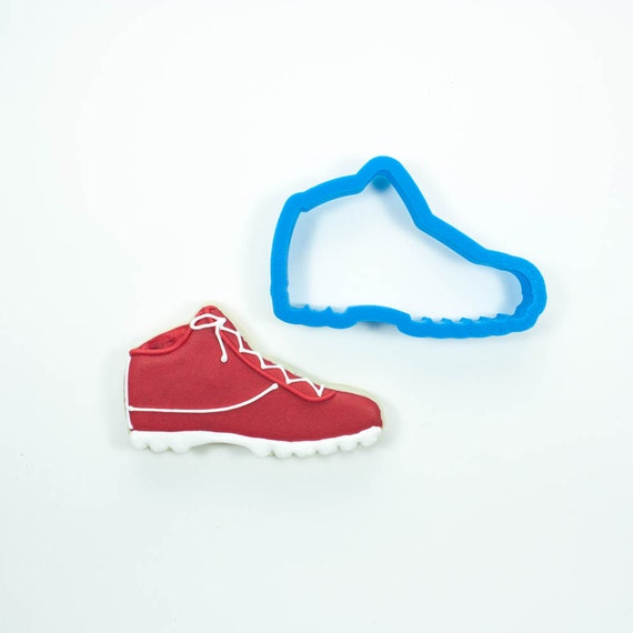 Football Cleat Cookie Cutter | Shoe Cookie Cutter | Football Cookie Cutter | Boot Cookie Cutter | Hiking Boot Cookie Cutter | Frosted Cutter