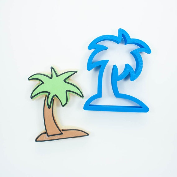 Palm Tree with Island Cookie Cutter