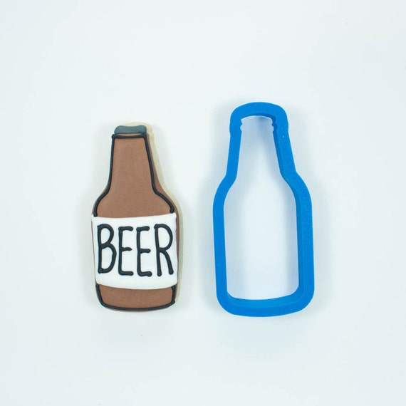 Beer Bottle Cookie Cutter | Beer Cookie Cutter | Bottle Cookie Cutter | Drink Cookie Cutter | Summer Cookie Cutter | Father's Day Cutter