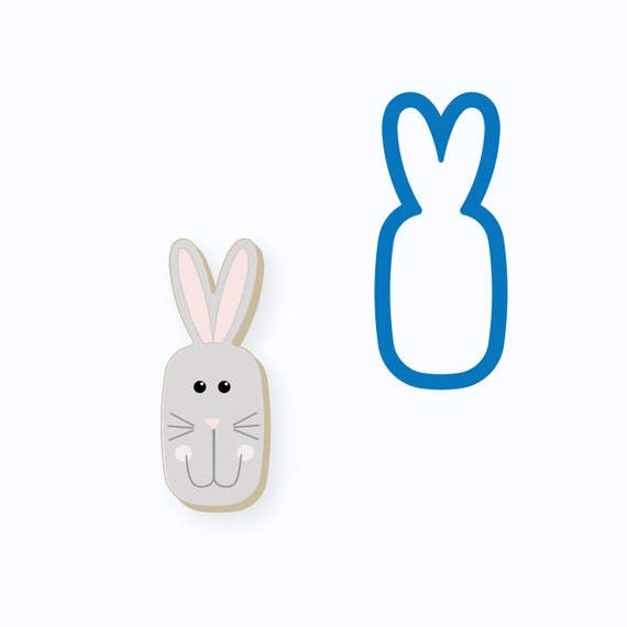 Bunny Cookie Cutter | Easter Bunny Cookie Cutter | Bunny Cookie Cutter | Easter Cookie Cutters | Mini Cookie Cutter | Fondant Cutter