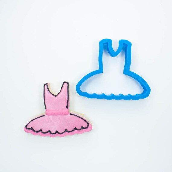 Ballerina Tutu Cookie Cutter | Ballet Cookie Cutter | Birthday Cookie Cutters | 3D Cookie Cutters | Mini Cookie Cutters