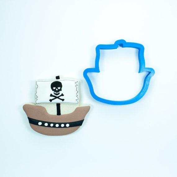 Pirate Ship Cookie Cutter