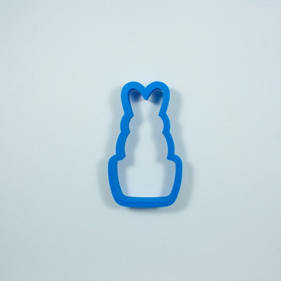 Succulent Bunny Cookie Cutter | Easter Bunny Cookie Cutter | Easter Cookie Cutter | Unique Cookie Cutter | Fondant Cutter | Mini Cutter