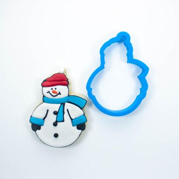 Round Snowman Cookie Cutter