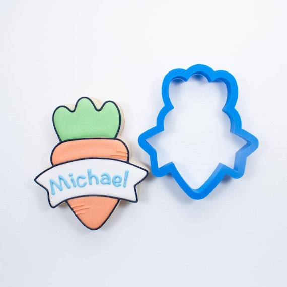 Banner Carrot Cookie Cutter