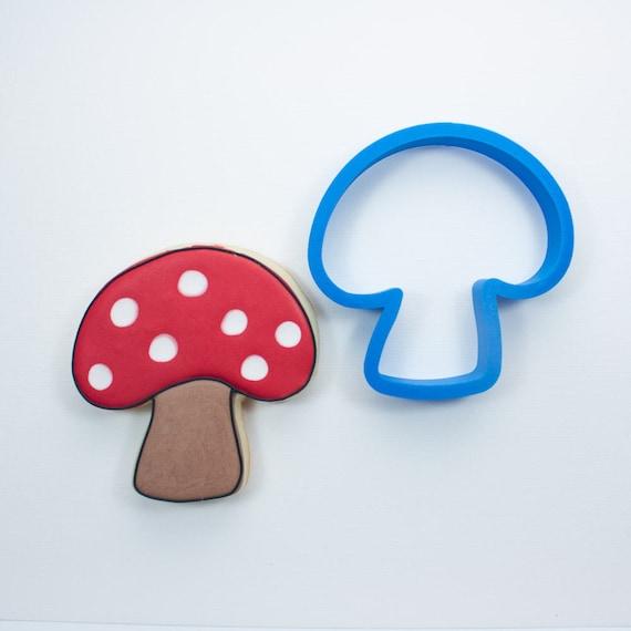 Chubby Mushroom Cookie Cutter | Mini Mushroom Cookie Cutter | Woodland Cookie Cutters | Unique Cookie Cutters