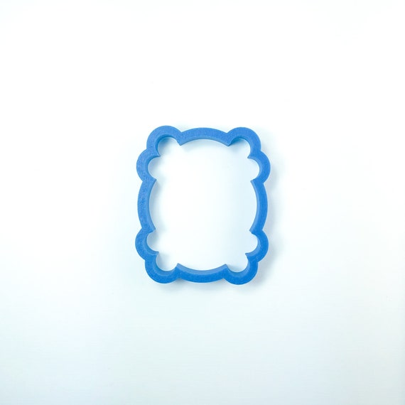 Fancy Frame Plaque Cookie Cutter | Frame Cookie Cutter | Plaque Cookie Cutters | Friends | Frosted Cutters