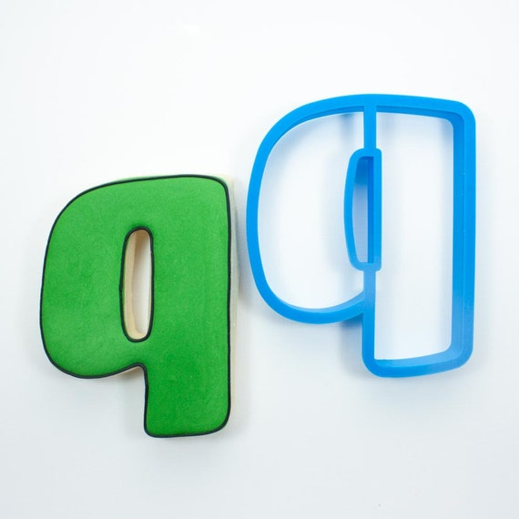 Letter Q Cookie Cutter | Alphabet Cookie Cutters | Letter Cookie Cutters | ABC Cookie Cutters | Large Alphabet Cookie Cutters