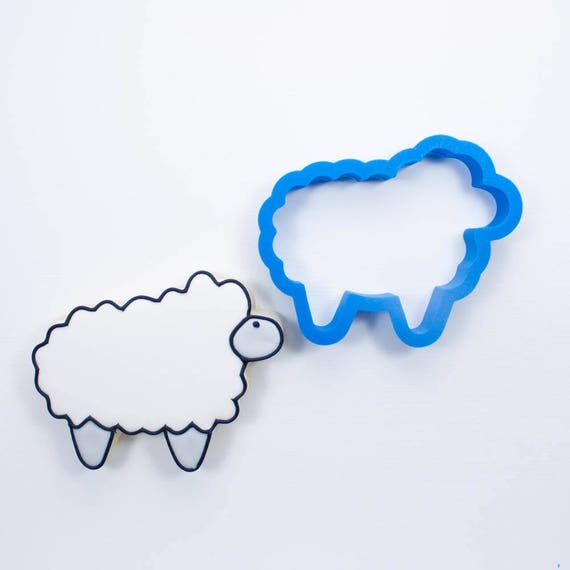 Chubby Lamb Cookie Cutter