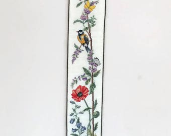 Vintage Embroidered Wall Hanging