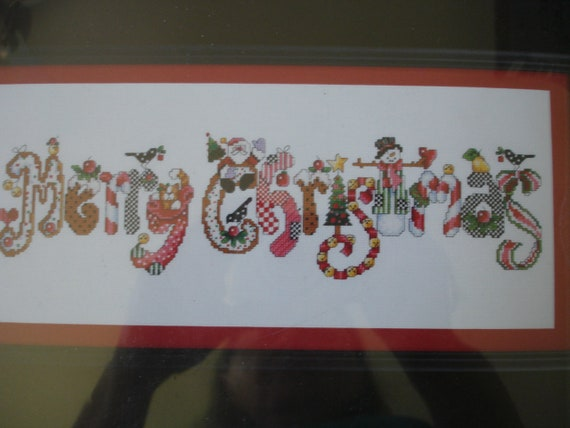 DMC Cross Stitch Kit Christmas Tree Blue Christmas Keepsake Nordic Design