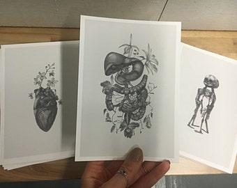 "Set of (3) 5"" x7"" Mini Prints"
