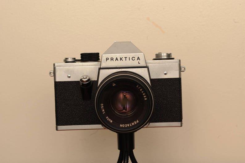 Praktica l mm slr camera with pentacon mm auto f prime etsy