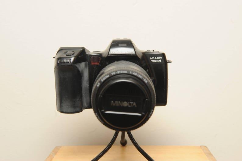 Minolta Maxxum 7000i 35mm SLR Camera with Minolta AF Zoom 70-210 F4.5 great student camera - 22 5.6 Zoom Lens