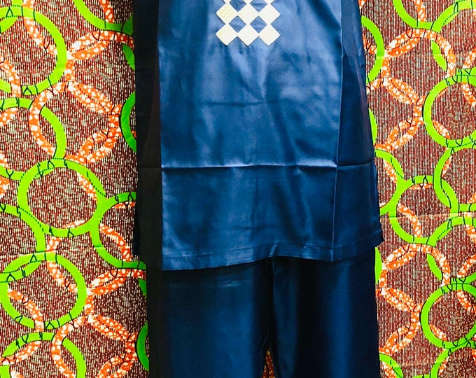 Men's light weight Dashiki Set