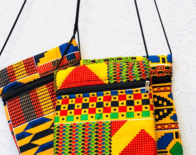 Kente Crossbow Bag