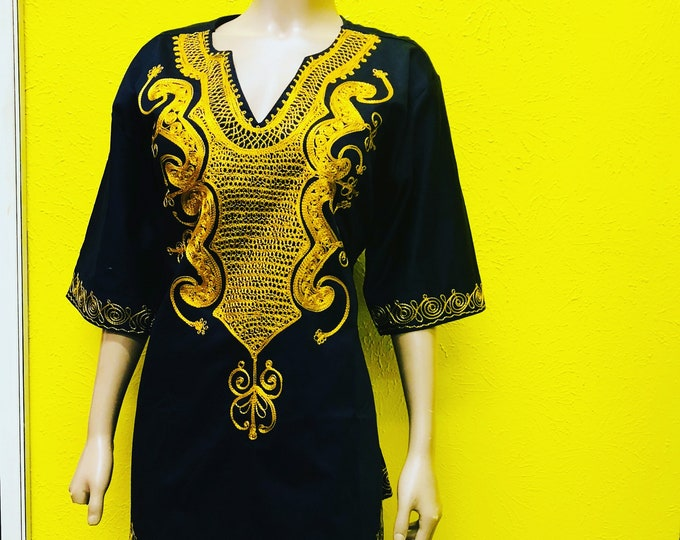 Traditional Embroidery Dress