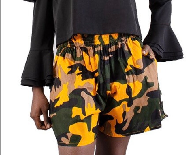 Camouflage Shorts with pockets